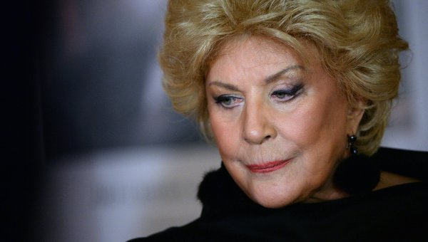 Оперная певица Елена Образцова. Архивное фото