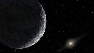 Так художник представил себе сверхдалекую от Солнца планету, которую астрономам еще только предстоит открыть