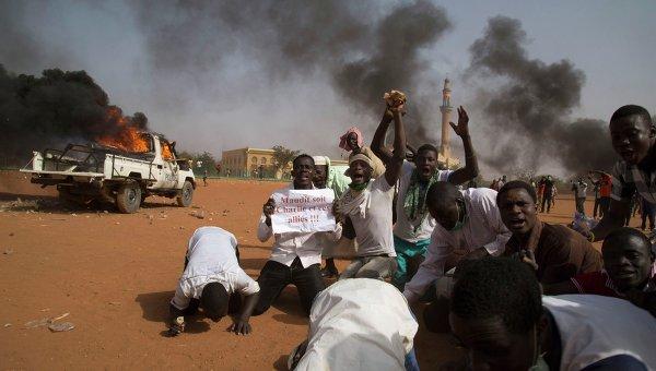 Протесты в Нигере, архивное фото