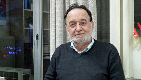 Лидер греческой партии СИРИЗА Панайотис Лафазанис