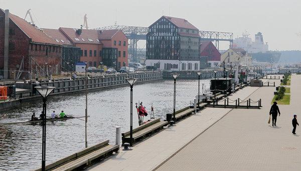 Города мира. Клайпеда. Архивное фото