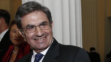 Президент Ассоциации Познаем Евразию, председатель Совета директоров Банка Интеза Антонио Фаллико. Архивное фото