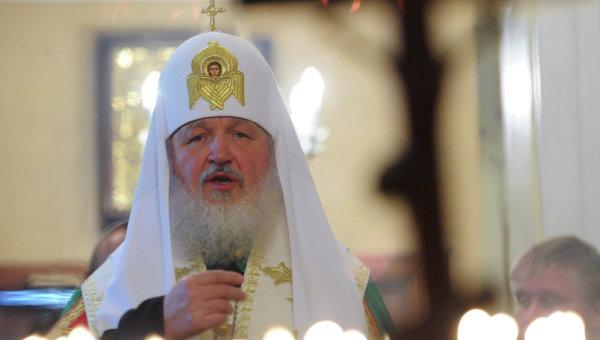 Визит патриарха Кирилла в Санкт-Петербург