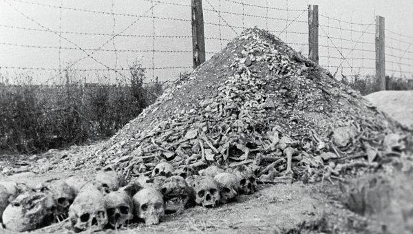 Концлагерь Майданек. Архивное фото
