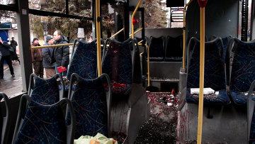 Обстрел остановки в Донецке. Архивное фото