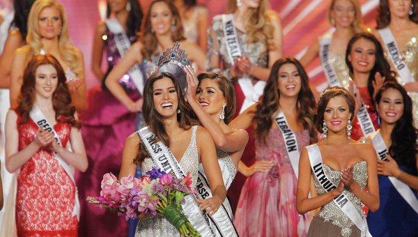 Победительница конкурса Мисс Вселенная 2014 Паулина Вега