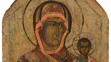 Смоленская икона Божией Матери Одигитрия