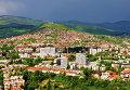Вид города Сараево, Босния и Герцеговина