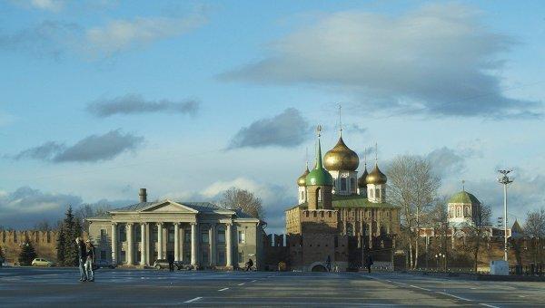 Вид на Тульский кремль. Архивное фото