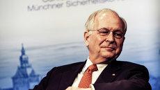Председатель Мюнхенской конференции по безопасности Вольфганг Ишингер