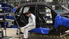 Завод Volkswagen. Архвиное фото