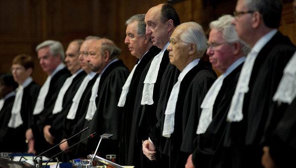 Заседание Международного Суда в Гааге. Архивное фото