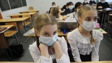 Эпидемия гриппа. Архивное фото