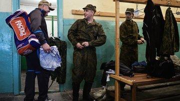 Военные сборы военнослужащих запаса, архивное фото