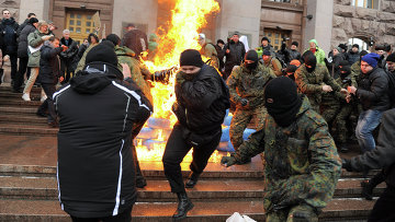 Митинг против подорожания цен на проезд в Киеве. Архивное фото