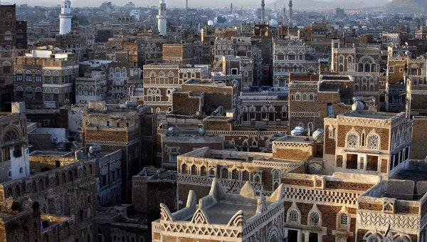 Столица Йемена Сана. Архивное фото