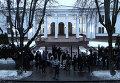 Резиденция Президента в Минске перед началом переговоров. 10 февраля 2015 год