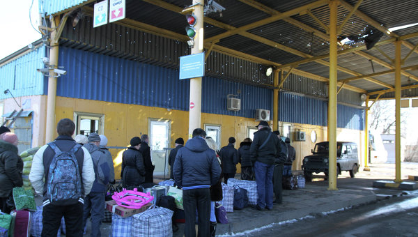 Ситуация на границе Украины с Россией. Архивное фото