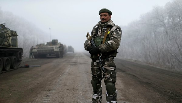 Украинские силовики. Архивное фото