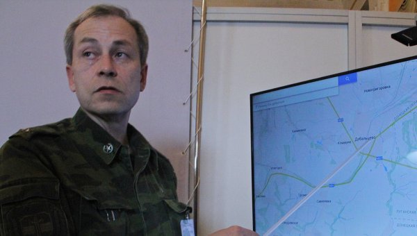 Заместитель командующего ополчением ДНР Эдуард Басурин. Архивное фото