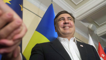 Пресс-конференция Михаила Саакашвили в Киеве. Архивное фото