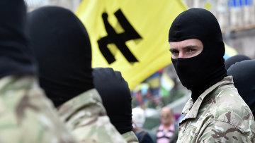 Сторонники радикального движения Правый сектор