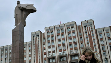 Памятник Ленину в Тирасполе. Архивное фото