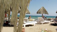 Пляж отеля Жасмин в египетской Хургаде. Архивное фото