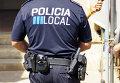 Сотрудник испанской полиции