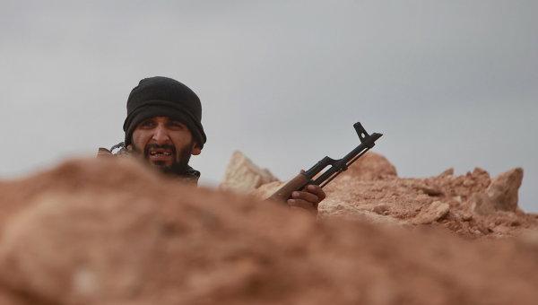 Боевик в Ливии. Архивное фото