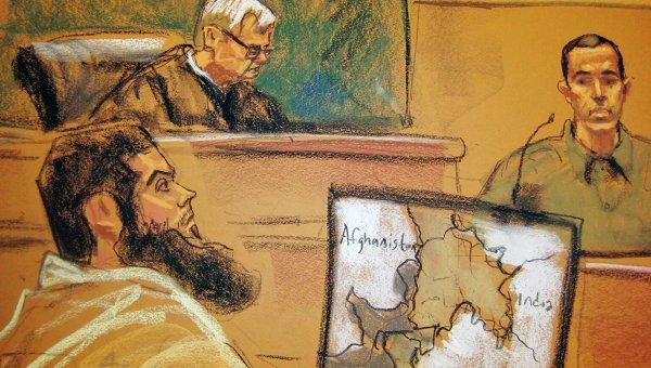 Подозреваемый в терроризме Абид Насир в суде