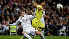 Матч чемпионата Испании с участием Реала. Архивное фото