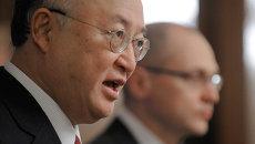 Генеральный директор МАГАТЭ Юкия Амано . Архивное фото