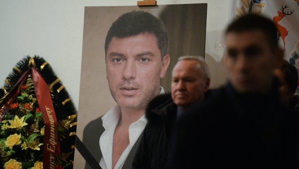 Прощание с Борисом Немцовым. Архивное фото