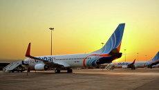 Самолеты авиакомпании flydubai. Архивное фото
