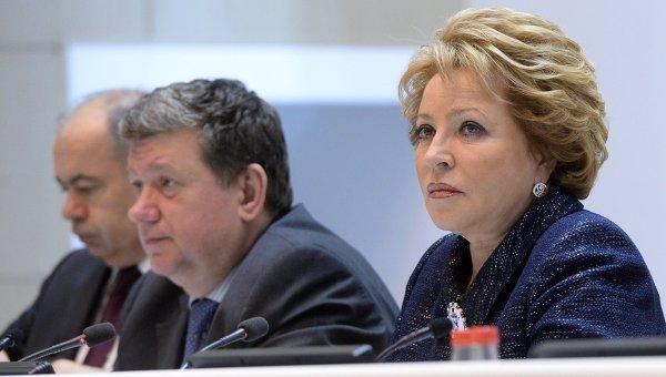 Матвиенко: украинский кризис используют для ослабления России