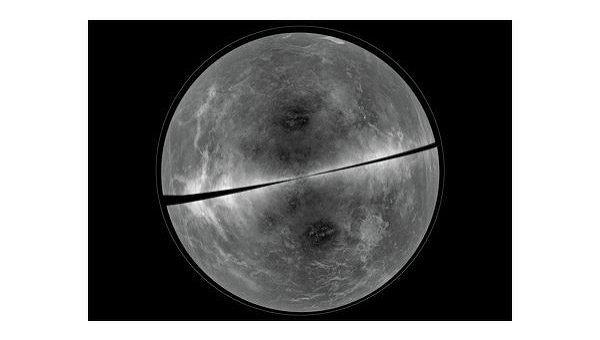 Радиолокационное изображение Венеры