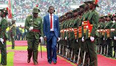 Президент Замбии Эдгар Лунгу. Архивное фото