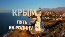 Кадр из фильма Крым. Путь на Родину. Архивное фото