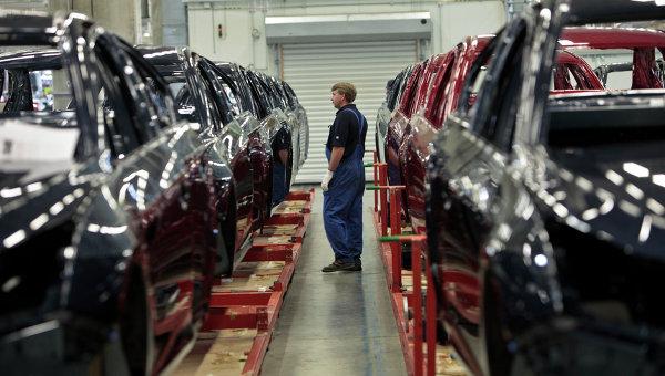 Завод General Motors в производственной зоне Шушары-2 Санкт-Петербурга. Архивное фото