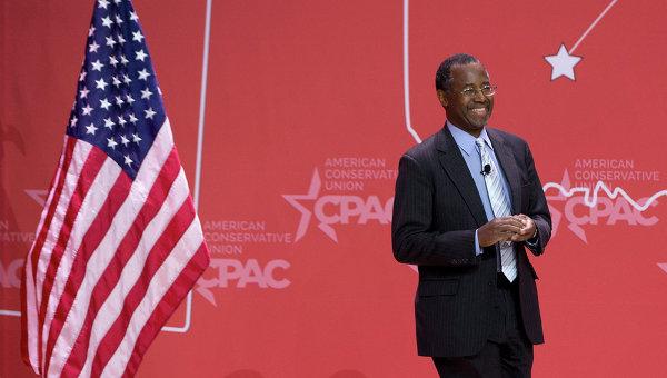 Возможный кандидат на пост президента США 2016 года от республиканской партии Бен Карсон. Архивное фото