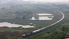 Индийская железная дорога. Архивное фото