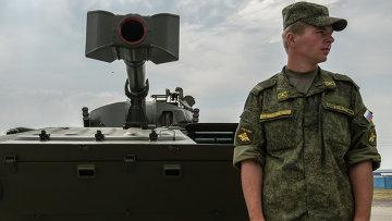 Самоходная артиллерийская 120-миллиметровая установка 2C34 Хоста . Архивное фото
