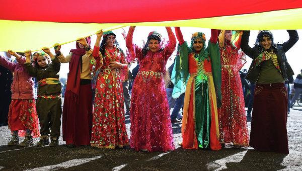 Празднование Навруза. Архивное фото