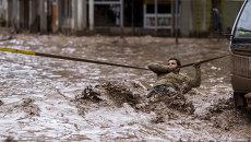 Наводнение в Чили. Архивное фото