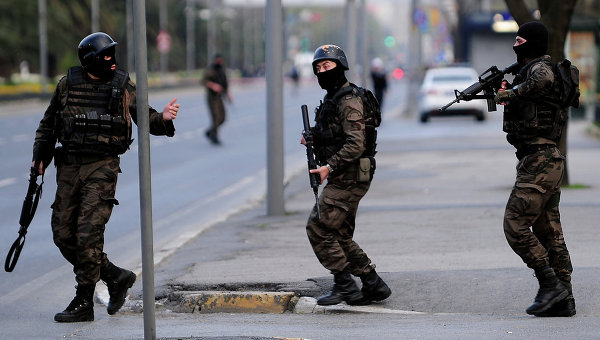 Турецкие силы безопасности. Архивное фото