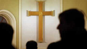 Празднование католической Пасхи в Санкт-Петербурге