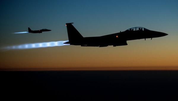 Американские истребители F-15, архивное фото