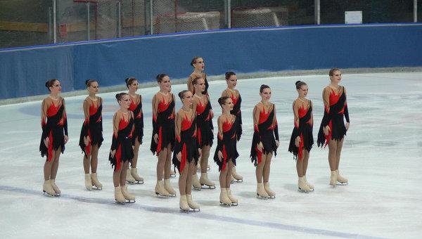 Команда синхронного катания на коньках Олимпийский-Юнитис