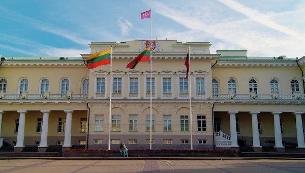 Президентский дворец в Вильнюсе, Литва. Архивное фото